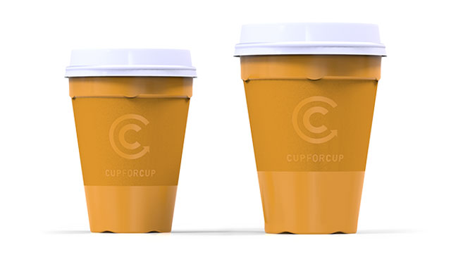 Mehrwegbecher recyclebar von Cup for Cup